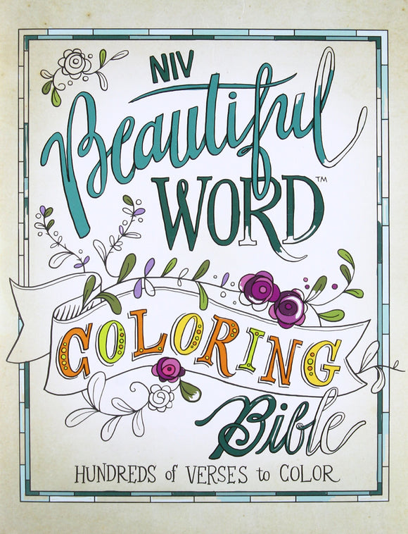 NIV Beautiful Word Coloring Bible, Hardcover