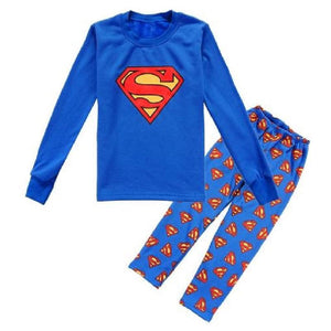 Kids Superman Pajama - Pajamas Haven