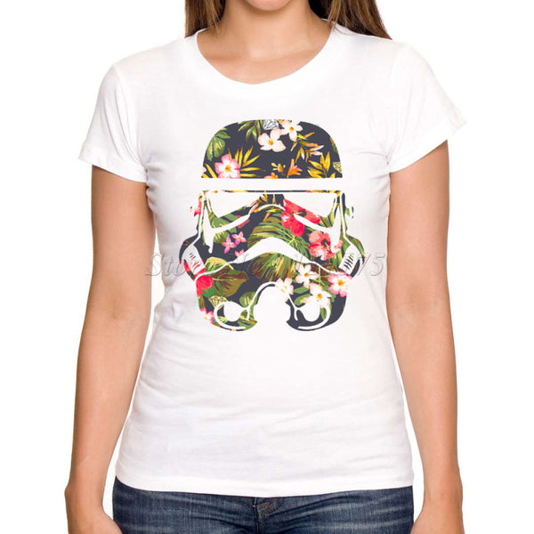Women Stormtrooper Short Sleeve T shirt - Pajamas Haven