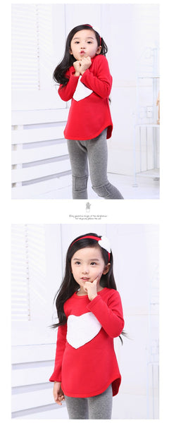 Girls Big Heart Set - Pajamas Haven