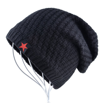 Red Star Men's Beanie - Pajamas Haven