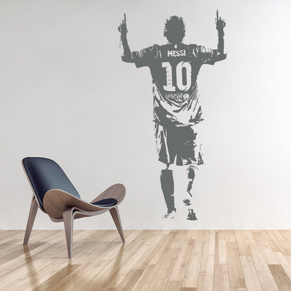Messi Goal Wall Sticker - Pajamas Haven