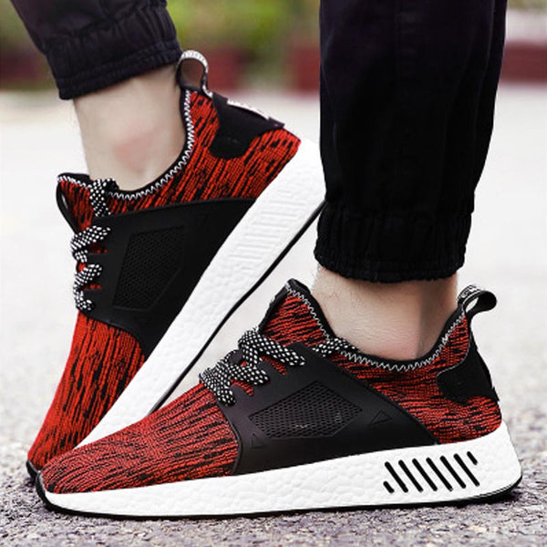 Men's Mesh Breathable Running Sneakers - Pajamas Haven