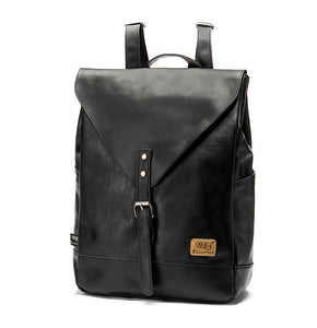 Men's Leather Laptop Backpack - Pajamas Haven