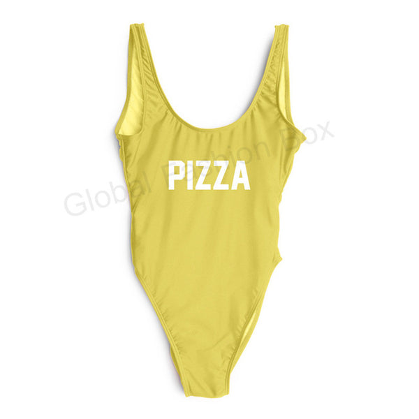 Women's PIZZA One Piece Swimsuit - Pajamas Haven