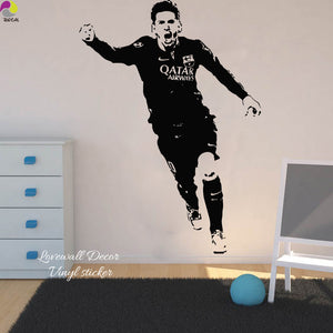 Messi Wall Sticker: Goal - Pajamas Haven