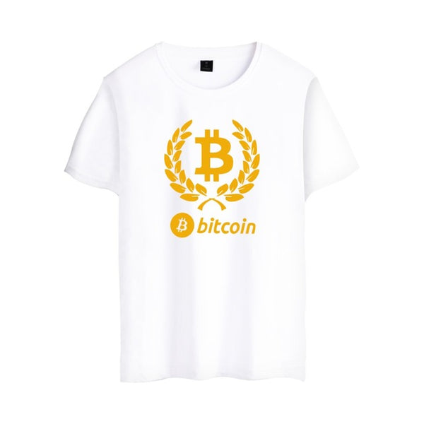 Bitcoin Retro T shirt - Pajamas Haven