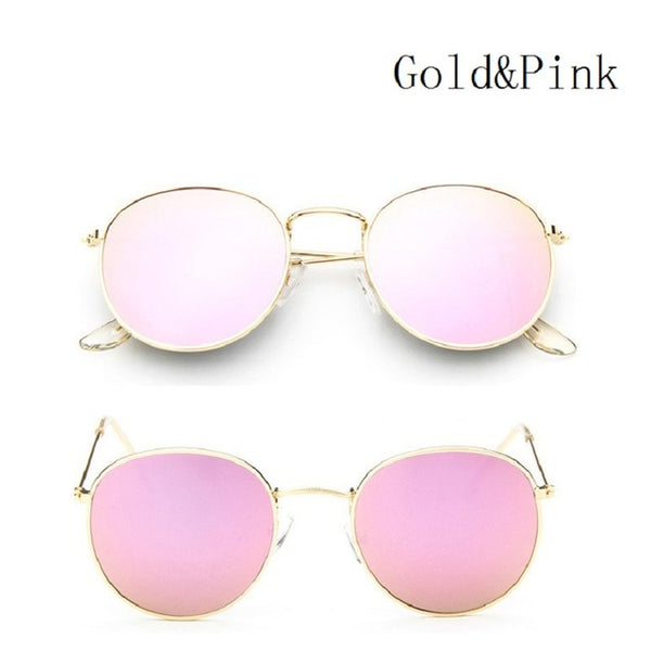 Round Metal Sunglasses Steampunk Men & Women Fashion - Pajamas Haven