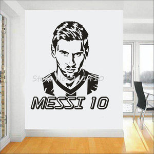 Messi Wall Sticker #10 - Pajamas Haven