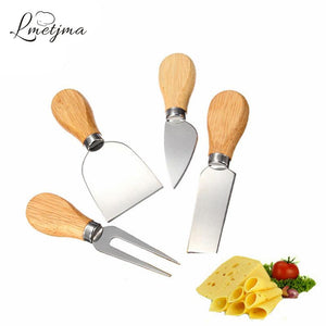 4pcs/set Stainless Steel Cheese Knife Set - Pajamas Haven