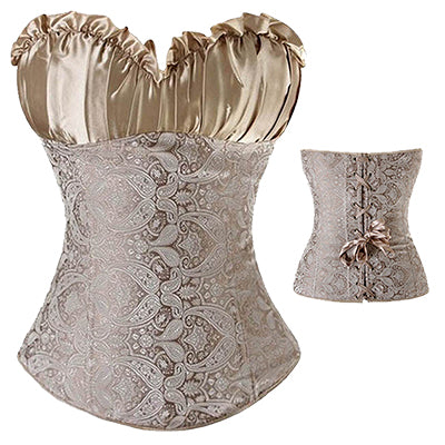 Sexy Women steampunk Gothic Bustier Plus Size Corsets - Pajamas Haven