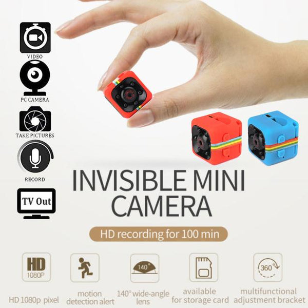 Full HD 1080P Night Vision Mini Camera - Pajamas Haven
