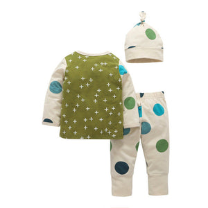 Polka Dots Baby Boy - Pajamas Haven