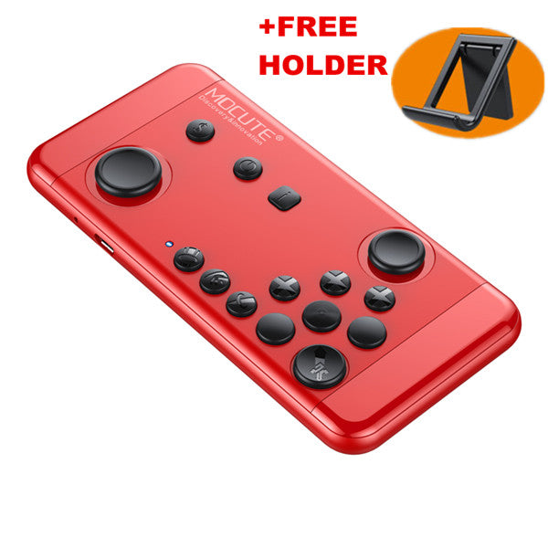 Wireless Bluetooth GamePad with Joystick WITH FREE HOLDER For PC/ANDROID/IPHONE/TABLET - Pajamas Haven