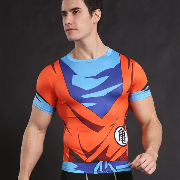Dragonball Gym Bodybuilding Tank Top - Pajamas Haven