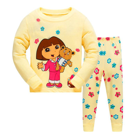 Dora The Explorer Girls Pajama - Pajamas Haven