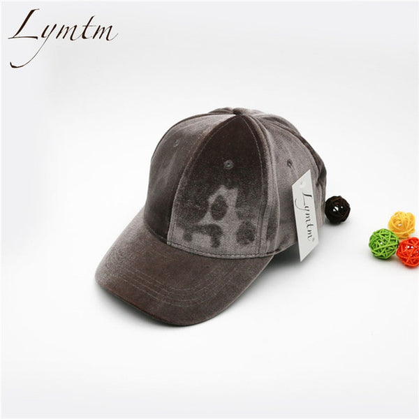 Velvet Baseball Cap - Pajamas Haven