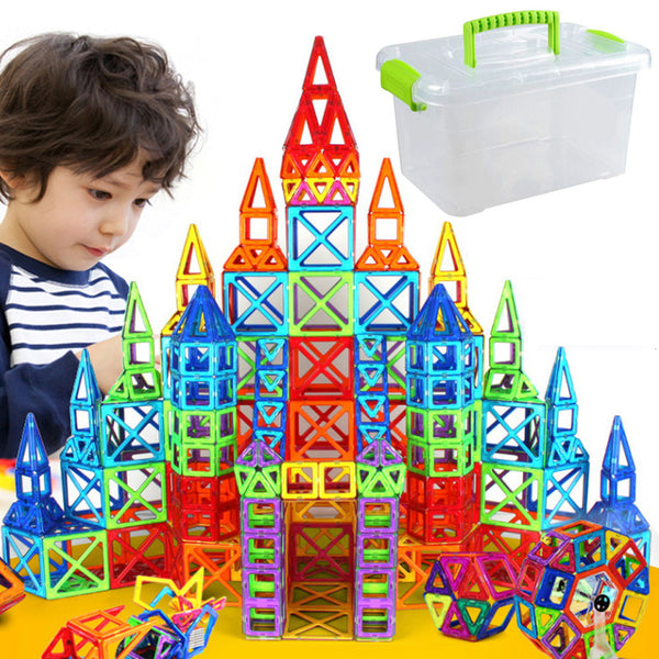 Magnetic Building Blocks Girls & Boys - Pajamas Haven