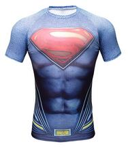 Marvel and DC Gym Compression Shirt - Pajamas Haven