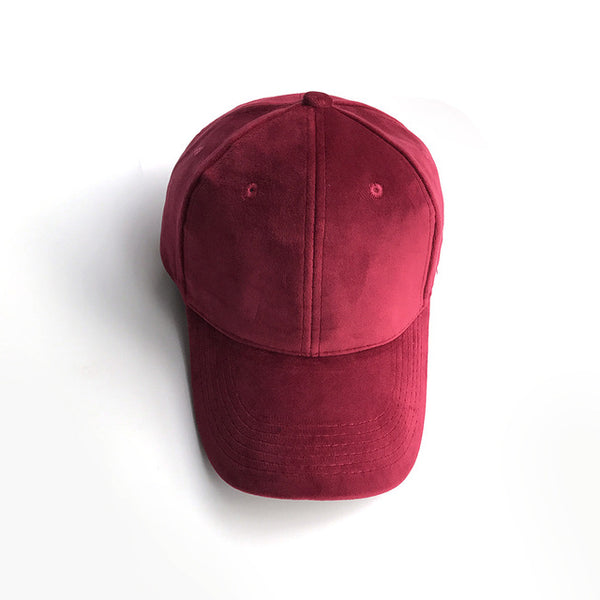 Velvet Snapback Baseball Cap - Pajamas Haven
