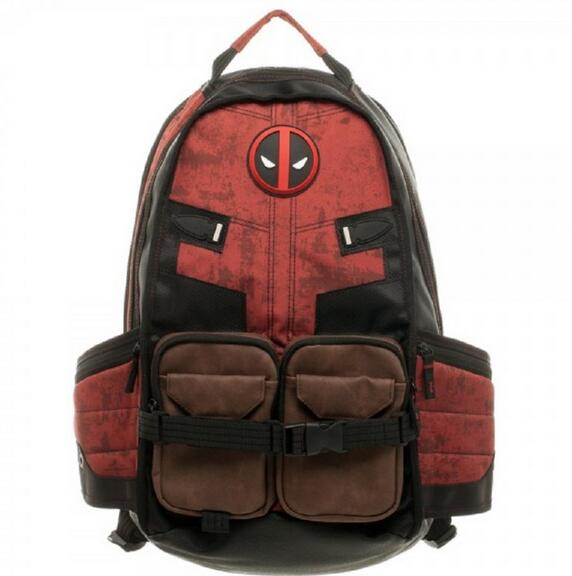 Deadpool Laptop Backpack - Pajamas Haven