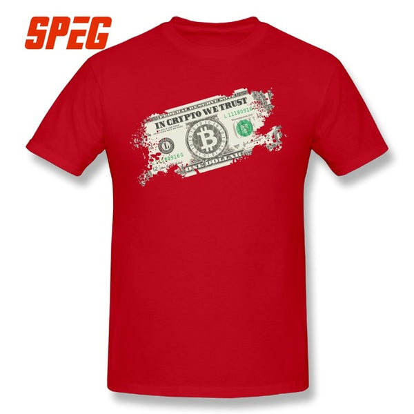 In Crypto We Trust T shirt - Pajamas Haven