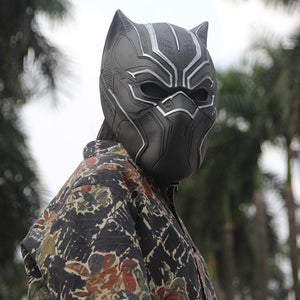 3D Black Panther Mask - Pajamas Haven