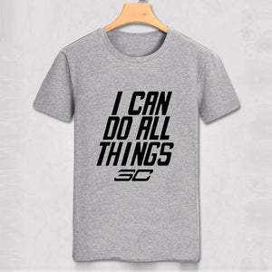 "Stephen Curry ""I Can Do All Things"" T Shirt - Pajamas Haven"