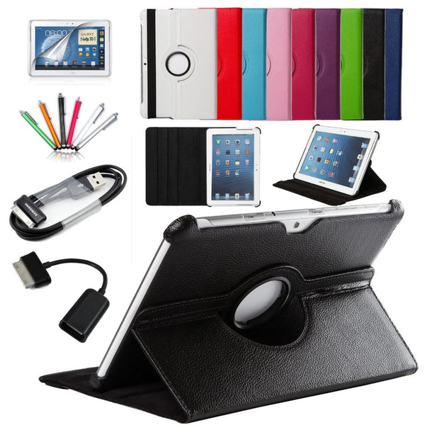 7 in 1 For Samsung Galaxy Tab Leather Case Cover - Pajamas Haven