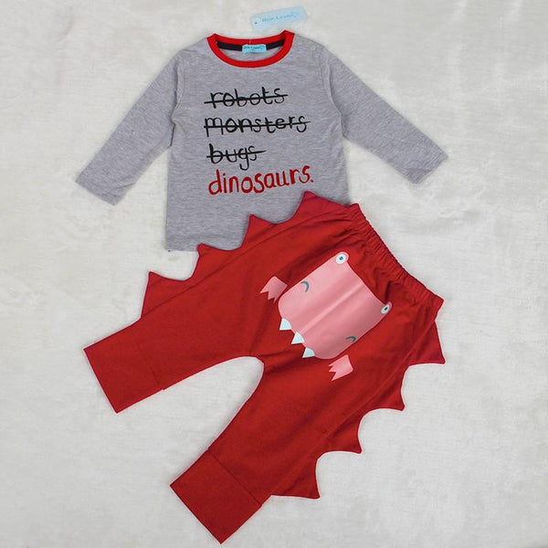 Baby Dinasour Kids Set - Pajamas Haven