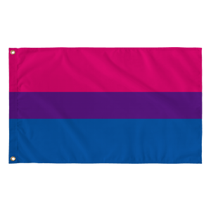 "Bisexual Pride Wall Flag 30""x60"""