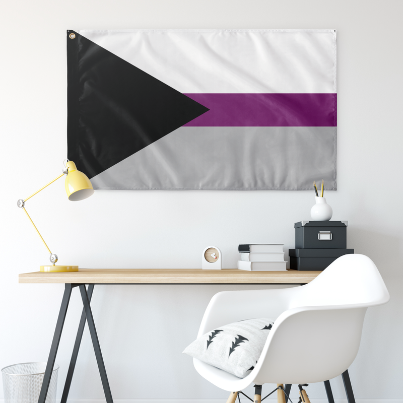 "Demisexual Pride Wall Flag 30""x60"""