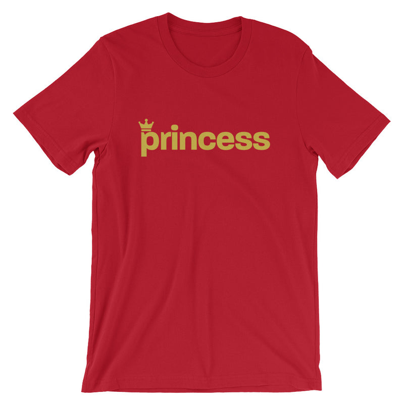 Princess Short-Sleeve Unisex T-Shirt