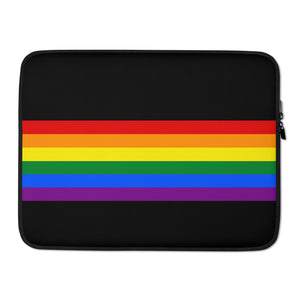 LGBT Rainbow Laptop Sleeve
