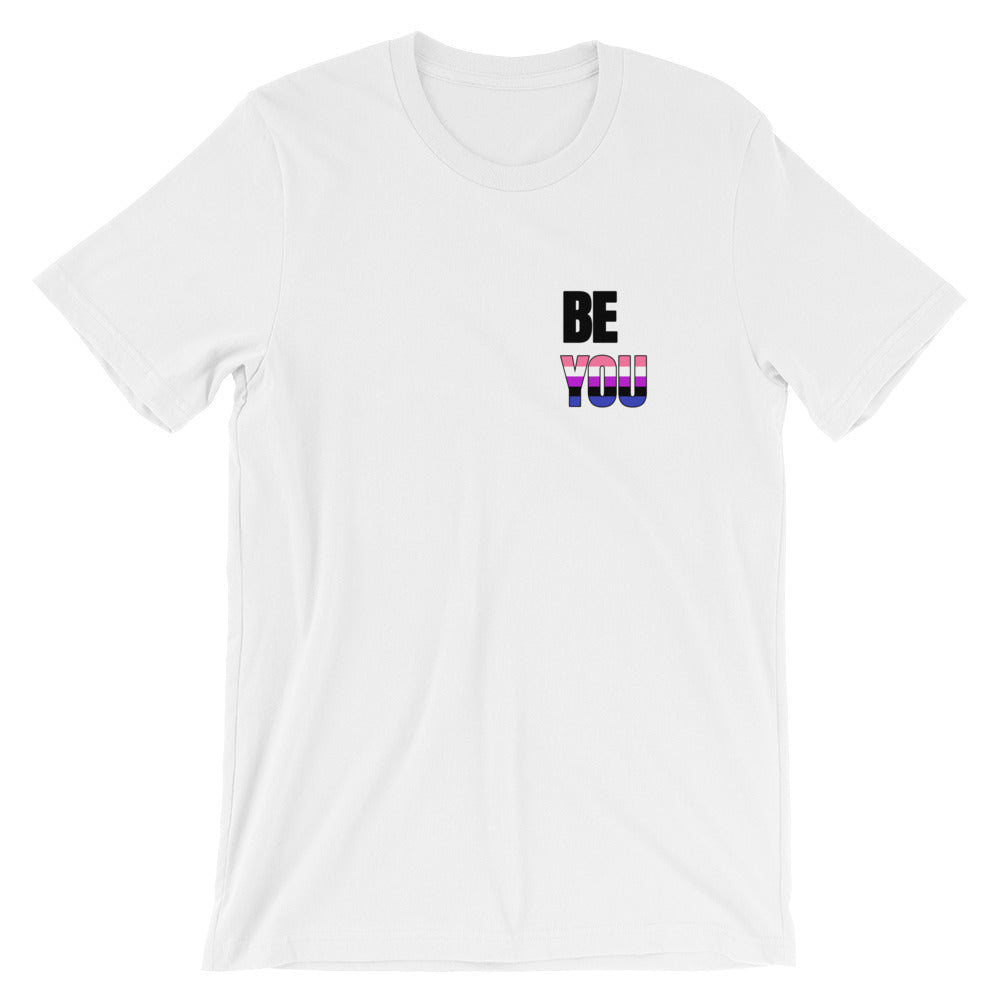 Be You Genderfluid Short-Sleeve Unisex T-Shirt