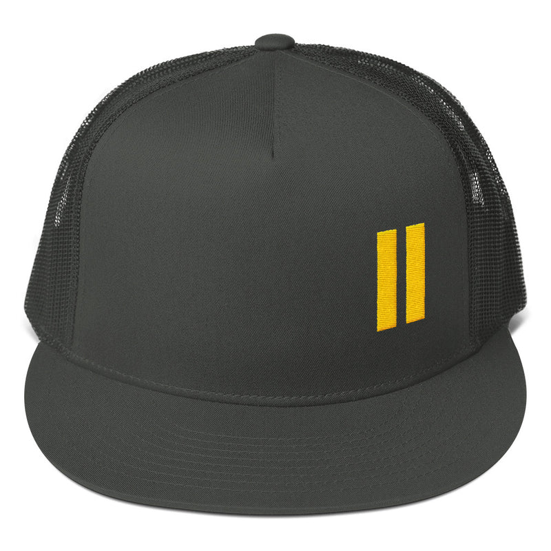 Between The Lines Logo Mesh Back Snapback