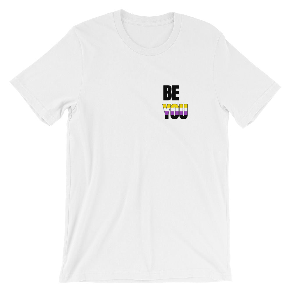 Be You Non Binary Short-Sleeve Unisex T-Shirt