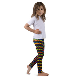 Rainbow Heart Kid's leggings
