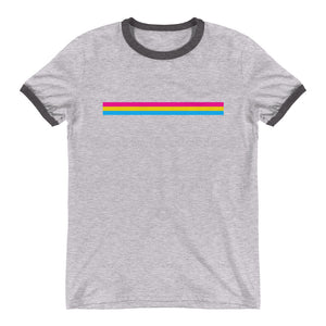 Pansexual Bar Flag Ringer T-Shirt