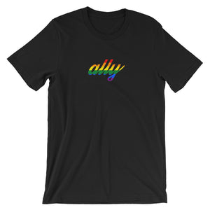 Rainbow Ally Short-Sleeve Unisex T-Shirt