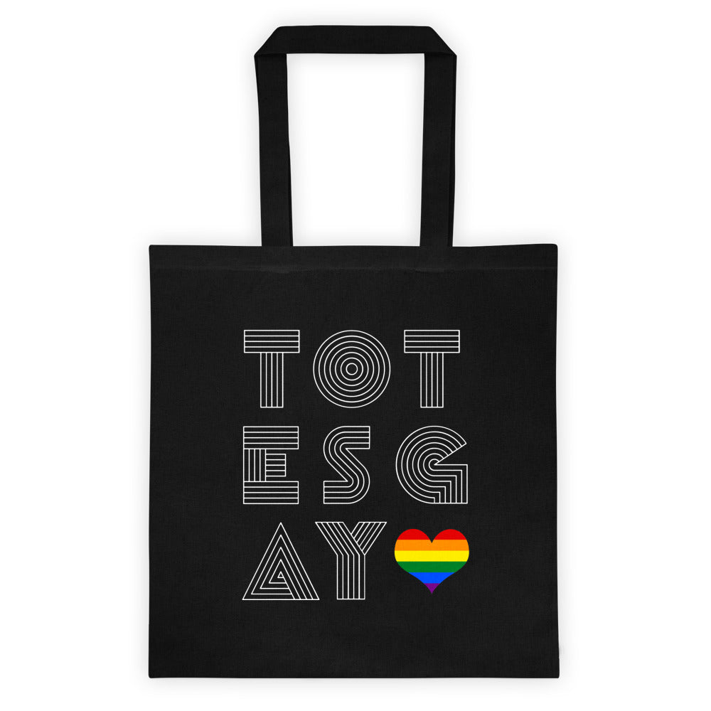 8867492ad175 Totes Gay bag (America Europe) - Rainbow Heart - Shopping and Grocery