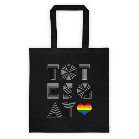 Totes Gay bag (America/Europe) - Rainbow Heart - Shopping and Grocery