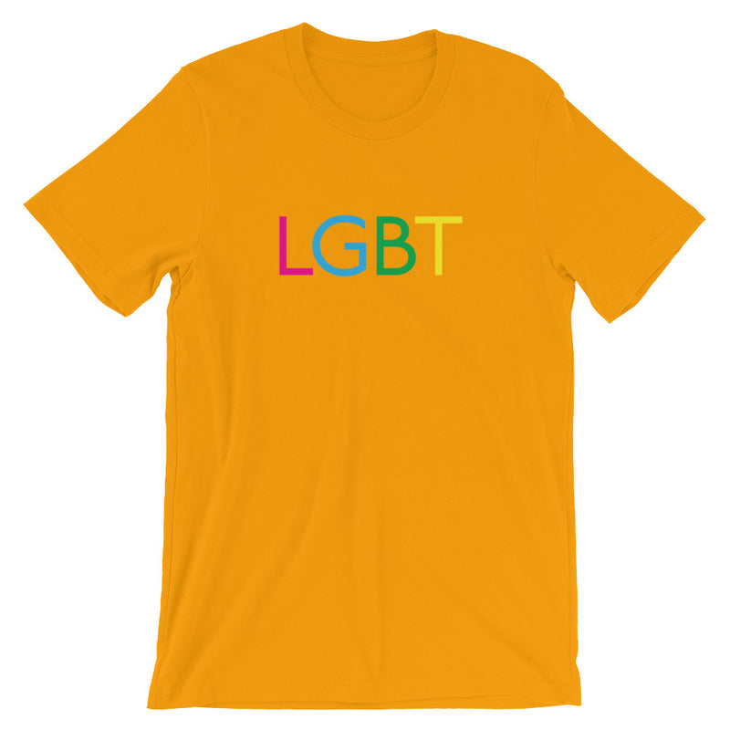 LGBT rainbow themed Short-Sleeve Unisex T-Shirt