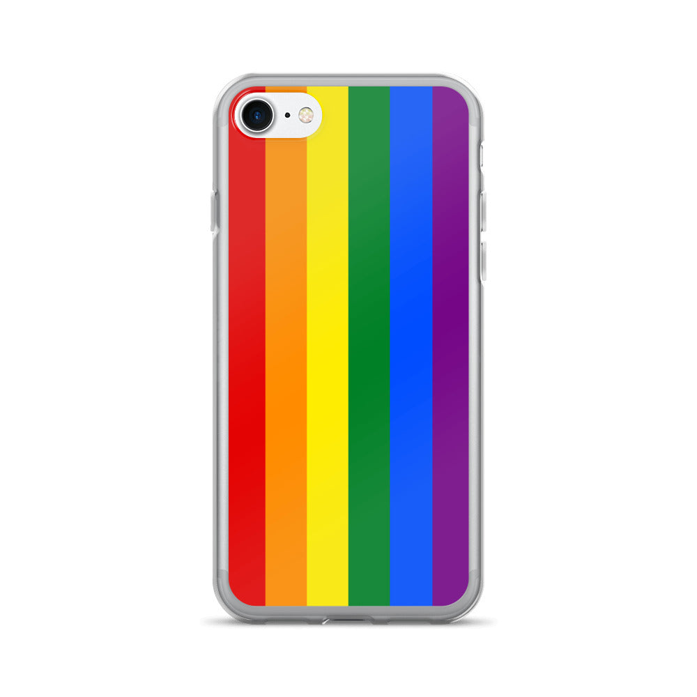 sneakers for cheap c1400 e92fc Rainbow Gay Flag iPhone 7/7 Plus Case | Pride mobile phone case. Gay.  Lesbian. LGBT.