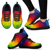 Rainbow Pride Sneakers - Women's sizes