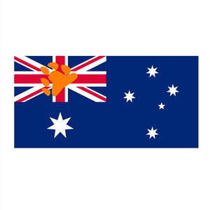 90*150cm Bear Pride flag of Australia Flag