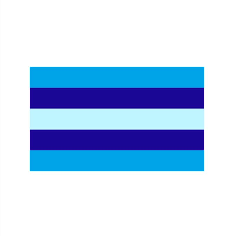 90*150cm  Transgender gay flag
