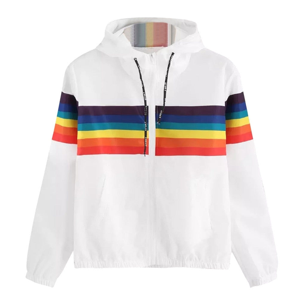 Long Sleeve LGBT Rainbow Flag Jacket
