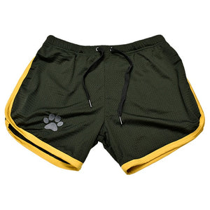 Gay bear fitness shorts