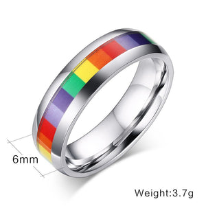 Meaeguet Rainbow Ring - Stainless Steel